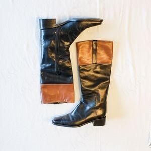 Stuart Weitzman Hunter Style Riding Boots